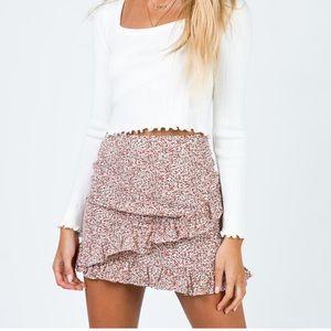 Princess Polly Floral Mini Skirt